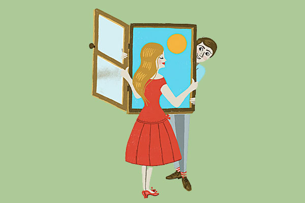 一扇窗测出你的爱情样貌!